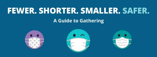 Fewer. Smaller. Shorter. Safer. A guide to Gathering